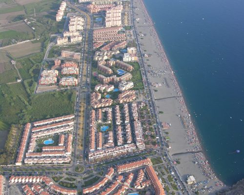 Vista Aérea Playa de Salobreña