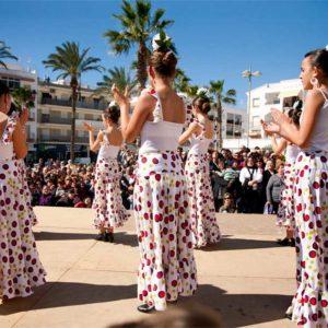 Salobreña. Día de Andalucía