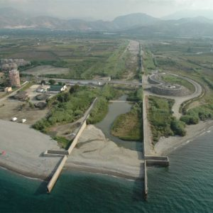 Desembocadura del Río Guadalfeo. Foto de Cesar Maldonado