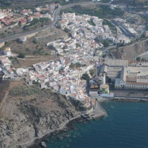 Vista aérea La Caleta