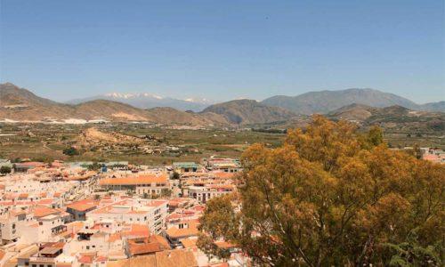 Vista desde el mirador El Postigo Salobreña