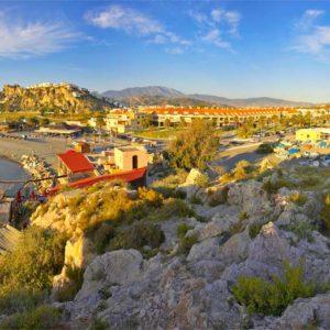 Vista panorámica desde El Peñón Salobreña.