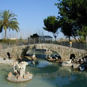 Parque de la Fuente en Salobreña
