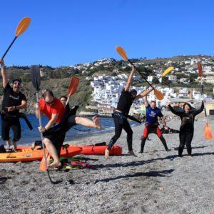 Kayak en Salobreña