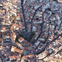 salobreña vista aerea trama urbana casco antiguo 113