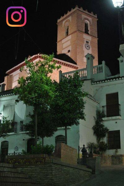 Iglesia del Rosario. Plaza del Museo. Casco Antiguo. Salobreña. Salobreña Costa Tropical Andalucia España