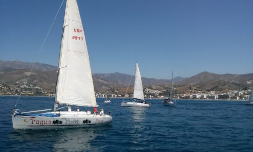 TRAVESIA EN VELERO SAILING COSTA TROPICAL ANDALUSIA SPAIN 198