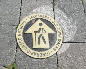 itinerario peatonal casco antiguo de salobreña