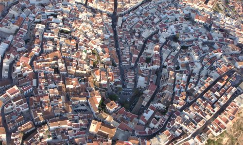 SALOBRENA COSTA TROPICAL ANDALUSIEN SPANIEN
