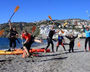COSTA TROPICAL ANDALUSIA SPAIN emociones paseos en kayak por acantilados la caleta